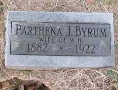 BYRUM, PARTHENA J. - Pope County, Arkansas   PARTHENA J. BYRUM - Arkansas Gravestone Photos