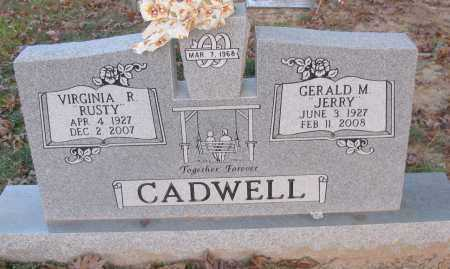 "CADWELL, GERALD M ""JERRY"" - Pope County, Arkansas 