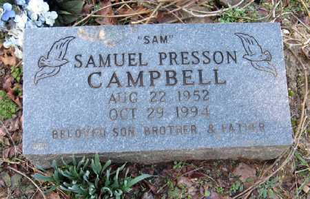 "CAMPBELL, SAMUEL PRESSON ""SAM"" - Pope County, Arkansas 