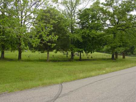 *CAMPGROUND CEMETERY VIEW,  - Pope County, Arkansas |  *CAMPGROUND CEMETERY VIEW - Arkansas Gravestone Photos