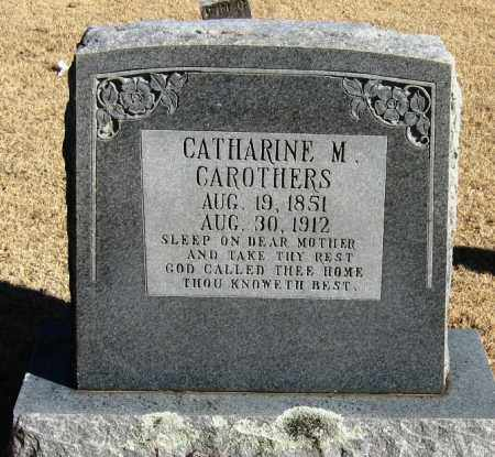 CAROTHERS, CATHARINE M - Pope County, Arkansas | CATHARINE M CAROTHERS - Arkansas Gravestone Photos