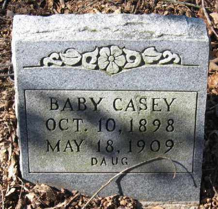 CASEY, INFANT DAUGHTER - Pope County, Arkansas | INFANT DAUGHTER CASEY - Arkansas Gravestone Photos