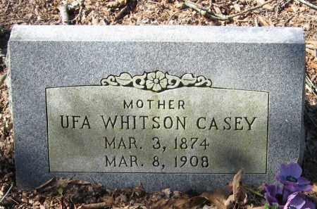 CASEY, UFA - Pope County, Arkansas | UFA CASEY - Arkansas Gravestone Photos