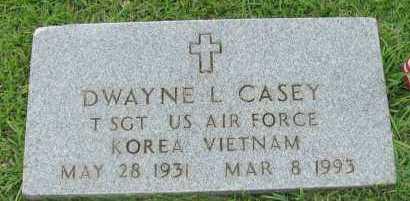 CASEY (VETERAN 2 WARS), DWAYNE L - Pope County, Arkansas | DWAYNE L CASEY (VETERAN 2 WARS) - Arkansas Gravestone Photos