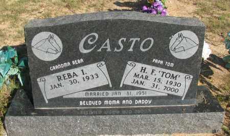 "CASTO, H.F. ""TOM"" - Pope County, Arkansas | H.F. ""TOM"" CASTO - Arkansas Gravestone Photos"