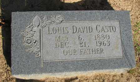 CASTO, LOUIS DAVID - Pope County, Arkansas   LOUIS DAVID CASTO - Arkansas Gravestone Photos
