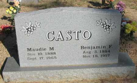 CASTO, MAUDIE M - Pope County, Arkansas | MAUDIE M CASTO - Arkansas Gravestone Photos