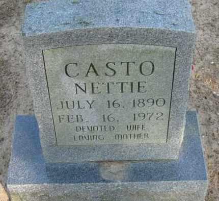 CASTO, NETTIE - Pope County, Arkansas | NETTIE CASTO - Arkansas Gravestone Photos