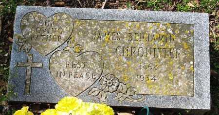 CHRONISTER, JAMES BENJAMIN - Pope County, Arkansas | JAMES BENJAMIN CHRONISTER - Arkansas Gravestone Photos