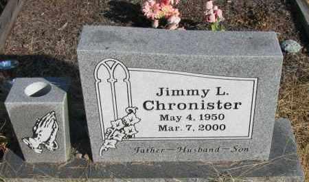 CHRONISTER, JIMMY L - Pope County, Arkansas | JIMMY L CHRONISTER - Arkansas Gravestone Photos