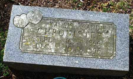 """CHRONISTER, KANSIS """"CANDIE"""" - Pope County, Arkansas   KANSIS """"CANDIE"""" CHRONISTER - Arkansas Gravestone Photos"""