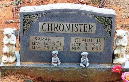 CHRONISTER, SARAH E - Pope County, Arkansas | SARAH E CHRONISTER - Arkansas Gravestone Photos