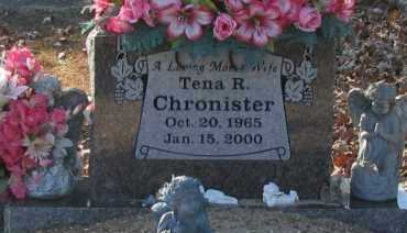 CHRONISTER, TENA R - Pope County, Arkansas | TENA R CHRONISTER - Arkansas Gravestone Photos