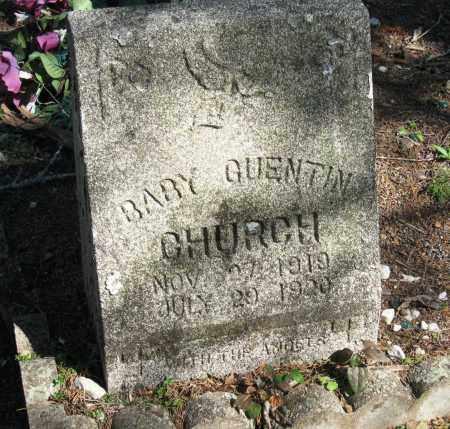 CHURCH, QUENTIN - Pope County, Arkansas   QUENTIN CHURCH - Arkansas Gravestone Photos