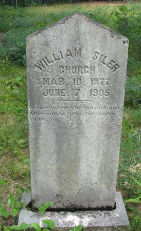 CHURCH, WILLIAM SILER - Pope County, Arkansas | WILLIAM SILER CHURCH - Arkansas Gravestone Photos