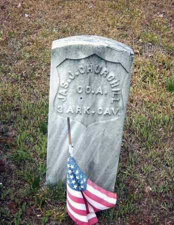CHURCHILL (VETERAN UNION), JAMES J. - Pope County, Arkansas | JAMES J. CHURCHILL (VETERAN UNION) - Arkansas Gravestone Photos