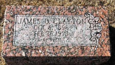 CLAYTON, JAMES O - Pope County, Arkansas | JAMES O CLAYTON - Arkansas Gravestone Photos