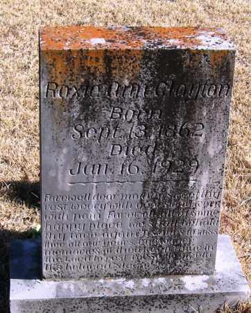 CLAYTON, ROXIE ANN - Pope County, Arkansas | ROXIE ANN CLAYTON - Arkansas Gravestone Photos