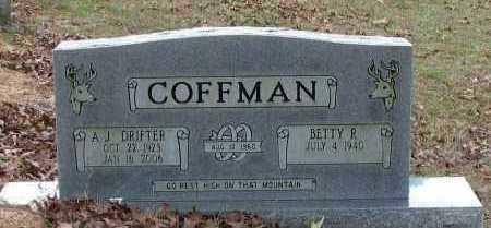"COFFMAN, A  J   ""DRIFTER"" - Pope County, Arkansas 