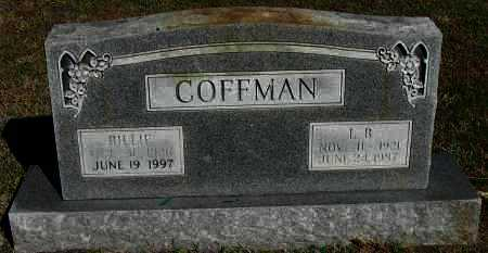 COFFMAN, L B - Pope County, Arkansas | L B COFFMAN - Arkansas Gravestone Photos