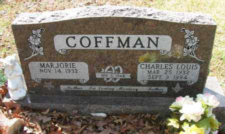 COFFMAN, CHARLES LOUIS - Pope County, Arkansas | CHARLES LOUIS COFFMAN - Arkansas Gravestone Photos