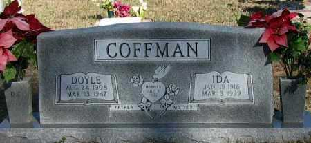 COFFMAN, IDA - Pope County, Arkansas | IDA COFFMAN - Arkansas Gravestone Photos