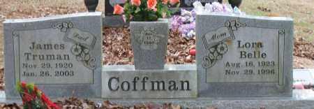 COFFMAN, JAMES TRUMAN - Pope County, Arkansas | JAMES TRUMAN COFFMAN - Arkansas Gravestone Photos