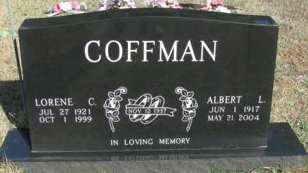 COFFMAN, ALBERT L - Pope County, Arkansas | ALBERT L COFFMAN - Arkansas Gravestone Photos