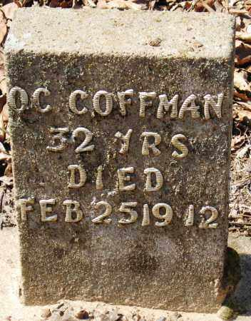 COFFMAN, O  C - Pope County, Arkansas | O  C COFFMAN - Arkansas Gravestone Photos