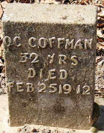 COFFMAN, O  C - Pope County, Arkansas | O  C COFFMAN - Arkansas Gravestone Photos