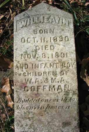 COFFMAN, WILLIEANN - Pope County, Arkansas | WILLIEANN COFFMAN - Arkansas Gravestone Photos
