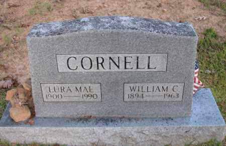 CORNELL, LURA MAE - Pope County, Arkansas   LURA MAE CORNELL - Arkansas Gravestone Photos