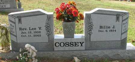 COSSEY, LEE V - Pope County, Arkansas | LEE V COSSEY - Arkansas Gravestone Photos