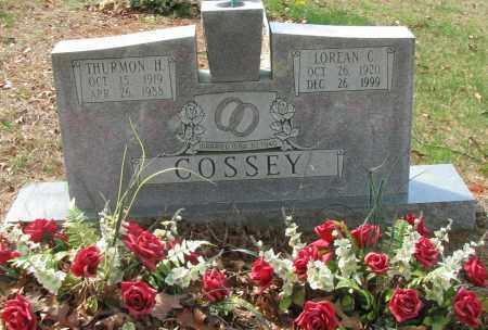 COSSEY, LOREAN C - Pope County, Arkansas | LOREAN C COSSEY - Arkansas Gravestone Photos