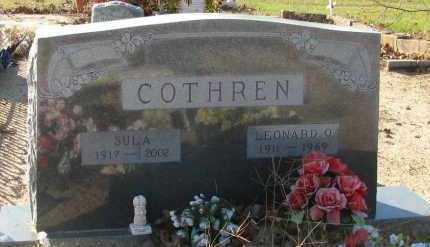 COTHREN, SULA - Pope County, Arkansas | SULA COTHREN - Arkansas Gravestone Photos