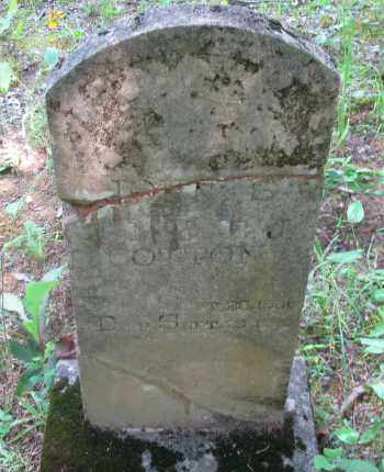 COTTON, JAMES S - Pope County, Arkansas | JAMES S COTTON - Arkansas Gravestone Photos