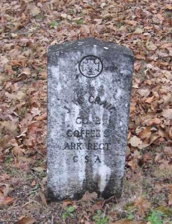 CRAIG (VETERAN CSA), J  W - Pope County, Arkansas | J  W CRAIG (VETERAN CSA) - Arkansas Gravestone Photos