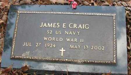 CRAIG (VETERAN WWII), JAMES - Pope County, Arkansas | JAMES CRAIG (VETERAN WWII) - Arkansas Gravestone Photos