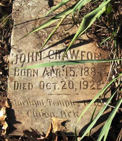 CRAWFORD, JOHN - Pope County, Arkansas | JOHN CRAWFORD - Arkansas Gravestone Photos