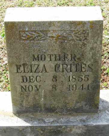 CRITES, ELIZA - Pope County, Arkansas   ELIZA CRITES - Arkansas Gravestone Photos