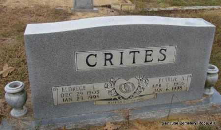 CRITES, PEARLIE A - Pope County, Arkansas | PEARLIE A CRITES - Arkansas Gravestone Photos