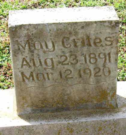 CRITES, MAY - Pope County, Arkansas   MAY CRITES - Arkansas Gravestone Photos