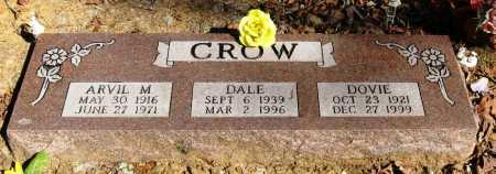 CROW, DOVIE - Pope County, Arkansas | DOVIE CROW - Arkansas Gravestone Photos