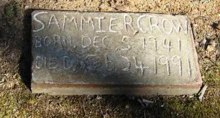 CROW, SAMMIE R - Pope County, Arkansas | SAMMIE R CROW - Arkansas Gravestone Photos