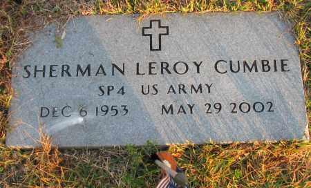 CUMBIE (VETERAN), SHERMAN LEROY - Pope County, Arkansas | SHERMAN LEROY CUMBIE (VETERAN) - Arkansas Gravestone Photos