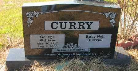 CURRY, GEORGE WILLIAM - Pope County, Arkansas | GEORGE WILLIAM CURRY - Arkansas Gravestone Photos