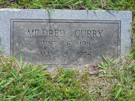 CURRY, MILDRED - Pope County, Arkansas | MILDRED CURRY - Arkansas Gravestone Photos