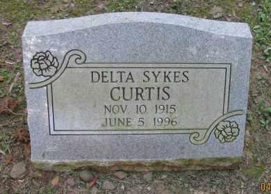 CURTIS, DELTA - Pope County, Arkansas | DELTA CURTIS - Arkansas Gravestone Photos