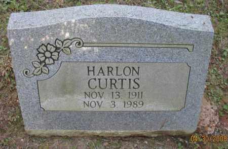 CURTIS, HARLON - Pope County, Arkansas | HARLON CURTIS - Arkansas Gravestone Photos
