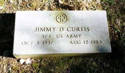 CURTIS (VETERAN), JIMMY D. - Pope County, Arkansas | JIMMY D. CURTIS (VETERAN) - Arkansas Gravestone Photos